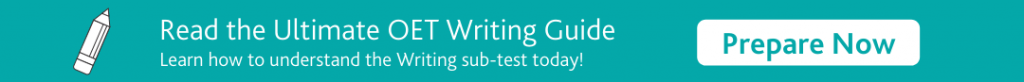 OET Writing Guide