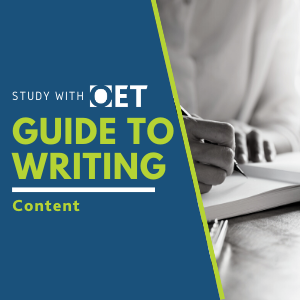Guide to the OET Writing sub-test: Content